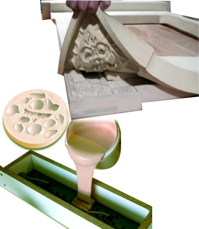 Prochima gomma siliconica gls 10 for Gomma siliconica per calchi