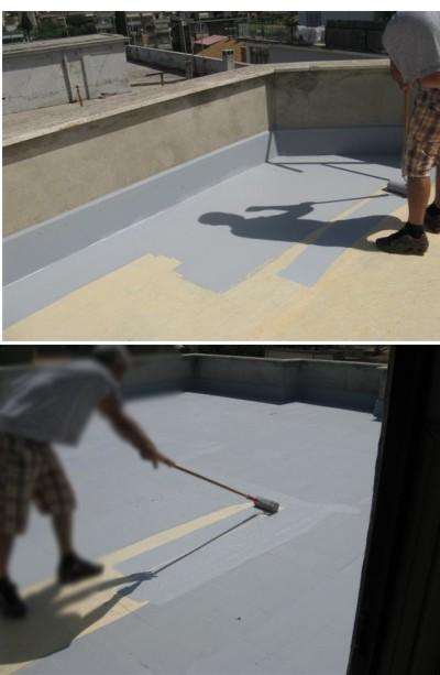 Impermeabilizzazione di terrazze e balconi esistenti - Impermeabilizzazione terrazzi esistenti ...